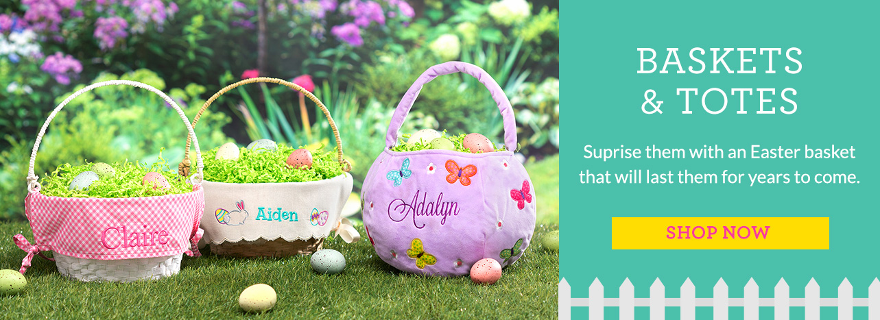 Easter Baskets and Totes